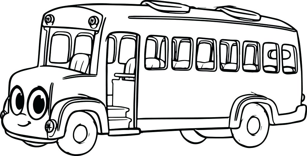 1024x522 School Bus Coloring Book As Awesome Coloring Pages Of School Bus