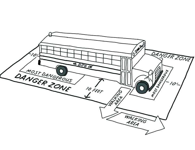 792x612 School Bus Safety Coloring Book Pages Stranger Danger Top