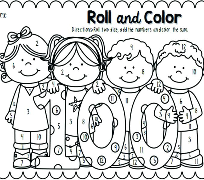 School Children Coloring Pages