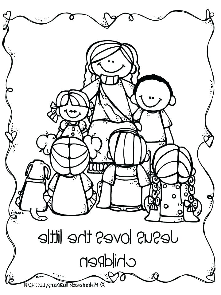 720x960 Pre School Coloring Pages Toddler Coloring Page Loves The Children