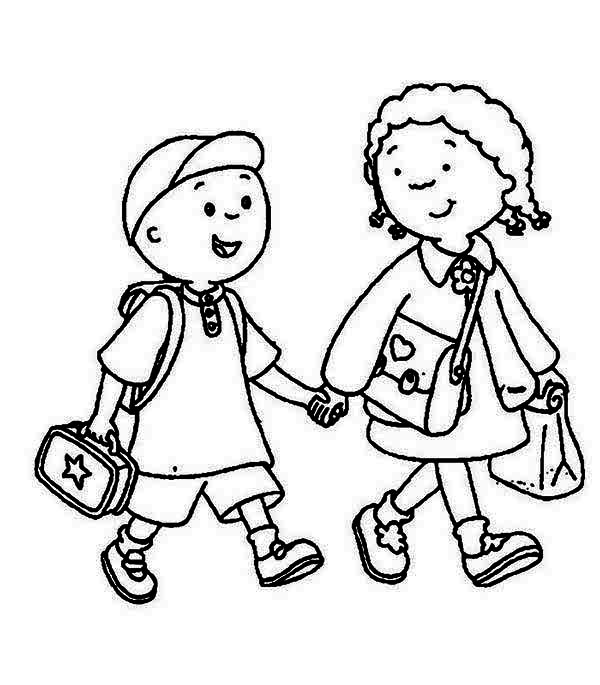 600x685 Sister Coloring Pages