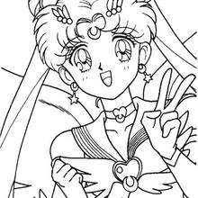 220x220 Bunny The Schoolgirl Coloring Pages