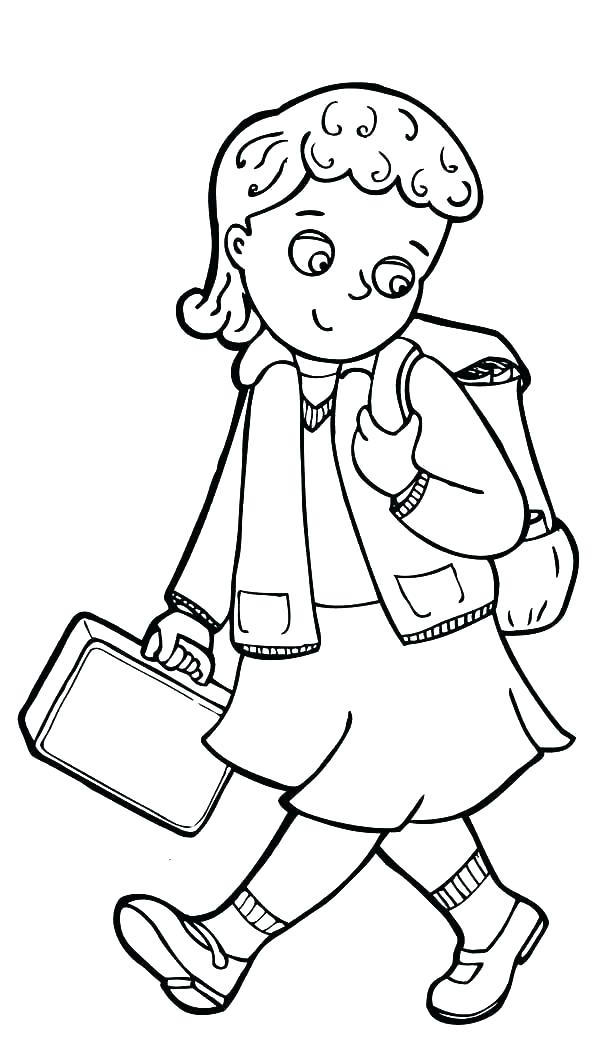 600x1056 Exciting American Girl Coloring Pages Coloring Pages Of A Little