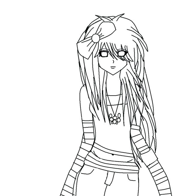 600x654 Anime Coloring Pages Anime Coloring Page Google Search Anime