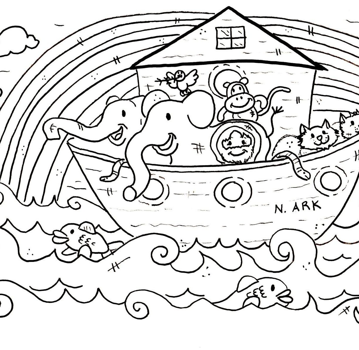 1224x1191 Free Printable Christian Coloring Pages For Toddlers Copy Daring