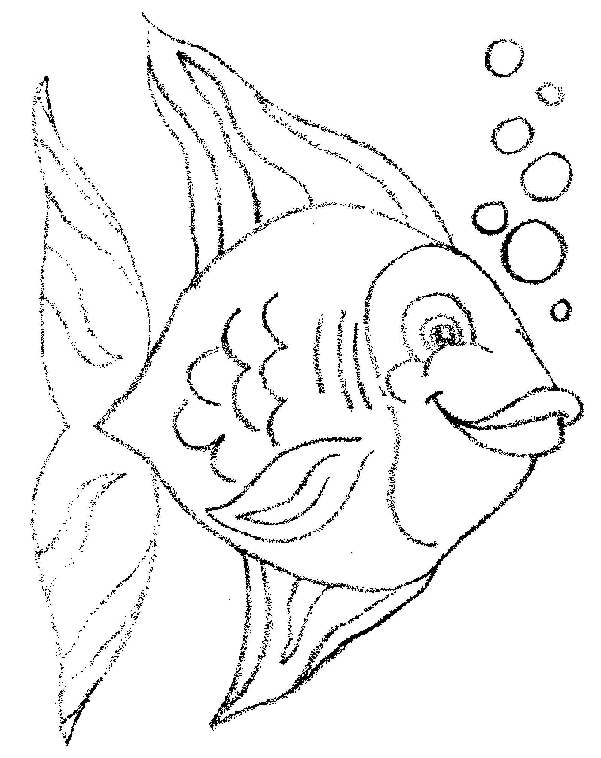 2000x2523 Puffer Fish Coloring Page For Kids Excellent Color Colouring Pages