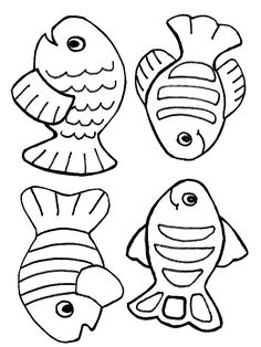 236x314 Color Sheet Of Fish And L Toddler Downloadable Resources