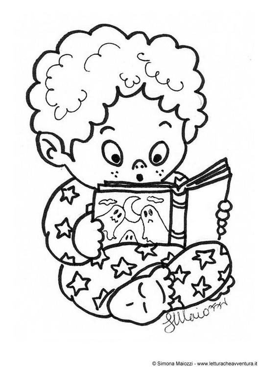 531x750 Coloring Page Ghost Story
