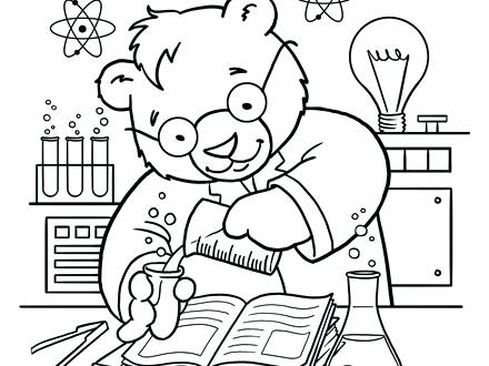440x330 Coloring Pages Science Science Coloring Page Science Coloring Page