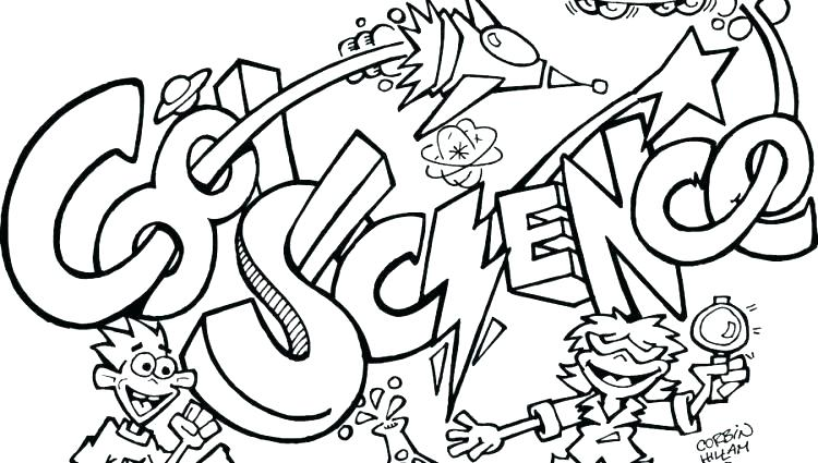 750x425 Science Coloring Page Science Coloring Pages With Science Coloring