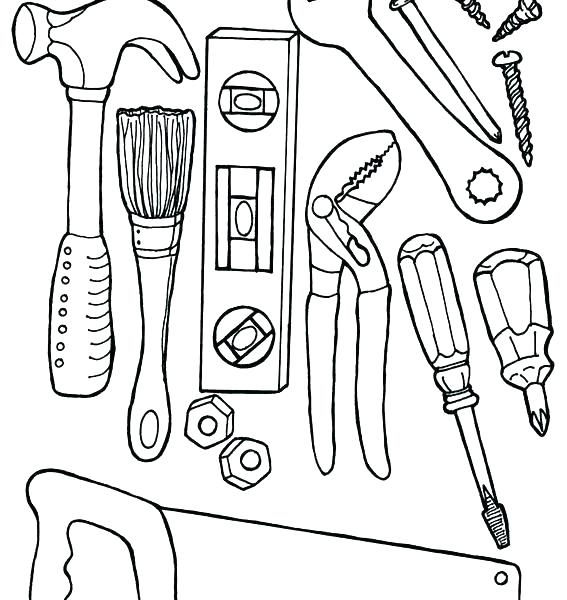 The Best Free Carpenter Coloring Page Images Download From 55 Free Coloring Pages Of Carpenter At Getdrawings