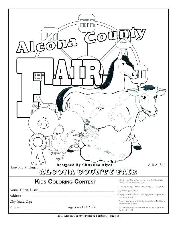 618x792 Fair Coloring Pages Best Fair Coloring Pages Print Inspirational