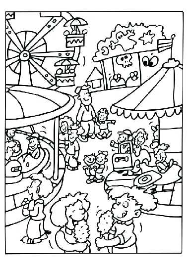 381x540 Fair Coloring Pages Free E County Fair Coloring Pages Free E