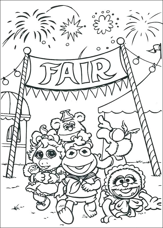 571x800 Fair Coloring Pages And Zack Fair Coloring Page Science Experiment