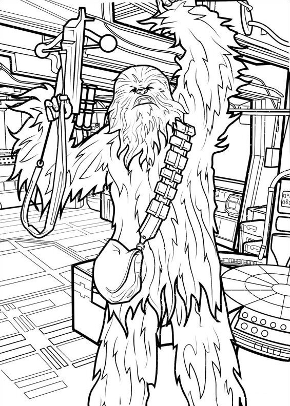 565x792 Kids N Coloring Pages Of Star Wars The Force Awakens