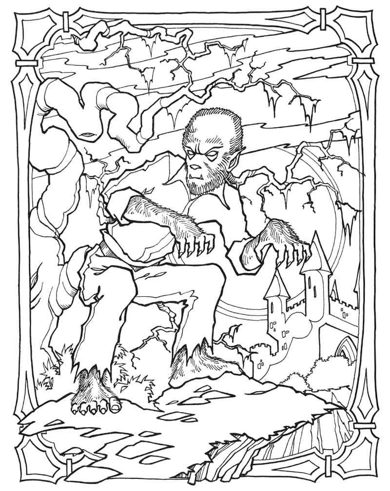 800x1008 Science Fiction Coloring Pages