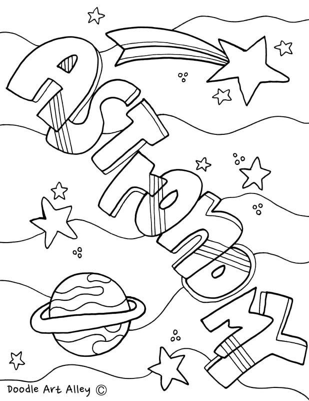 Science Lab Equipment Coloring Pages