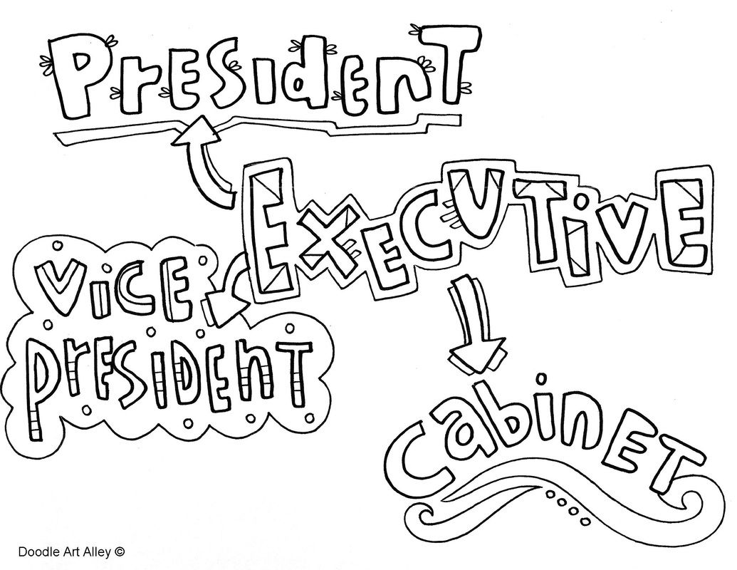 1035x800 Branches Of Government Coloring Pages On Classroom Doodles, Doodle