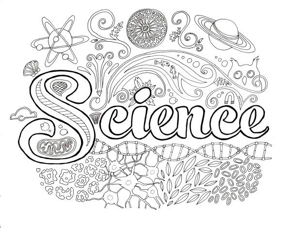 600x470 Science Coloring Pages Science Coloring Pages Chemistry Science