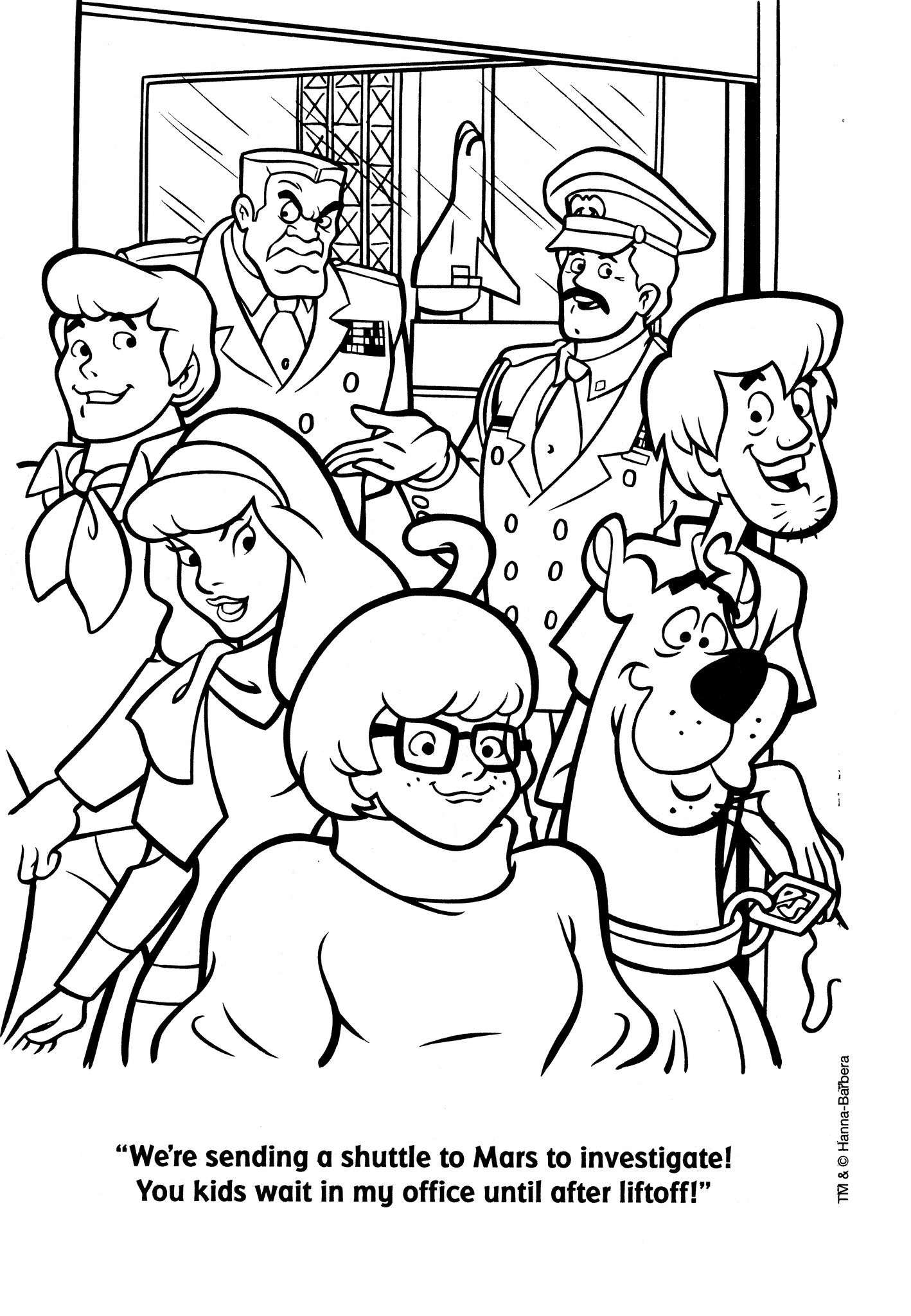 Scooby Doo Cartoon Coloring Pages at GetDrawings | Free ...