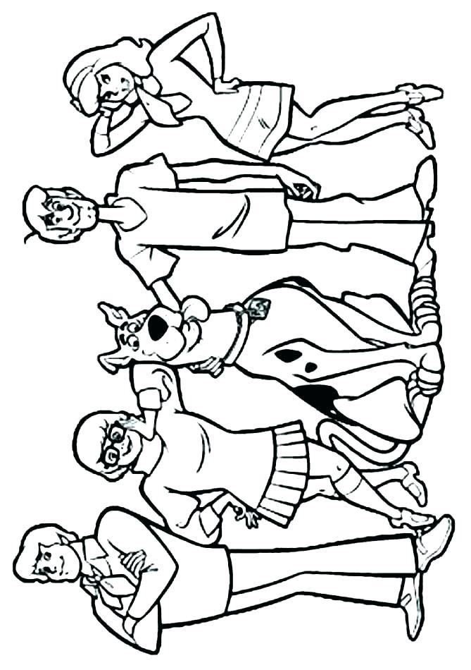 669x950 Scooby Doo Coloring Pages Free
