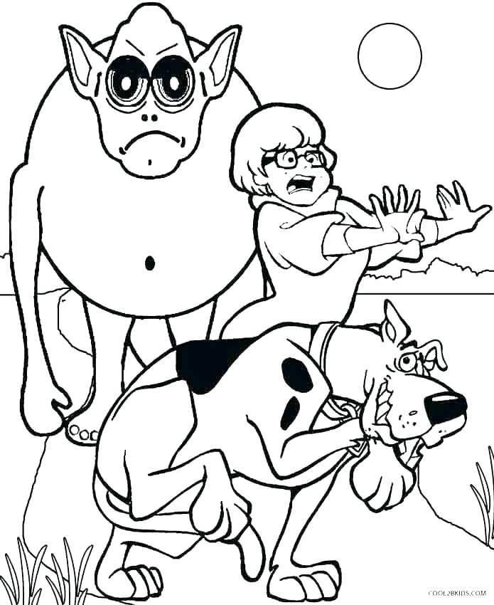 695x850 Scooby Doo Coloring Page Best Of Of Free Printable Coloring Pages