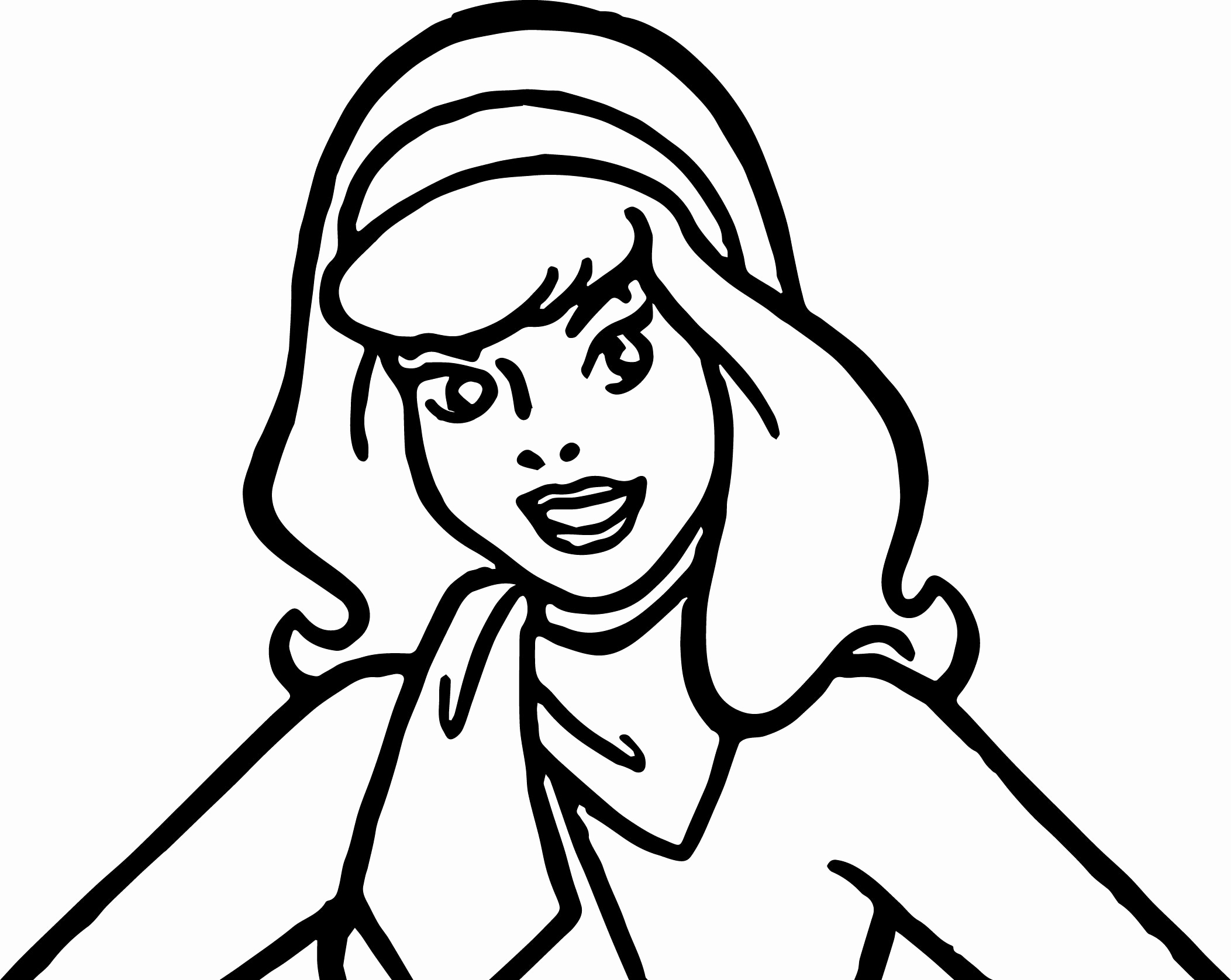 Scooby Doo Daphne Coloring Pages
