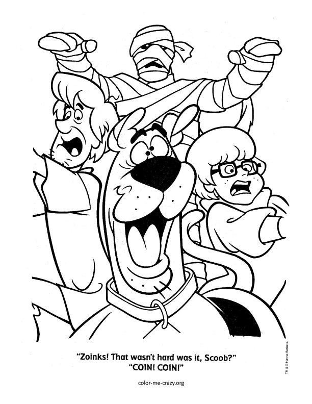 612x792 Scooby Doo Coloring Pages Scooby Doo Coloring Pages Halloween
