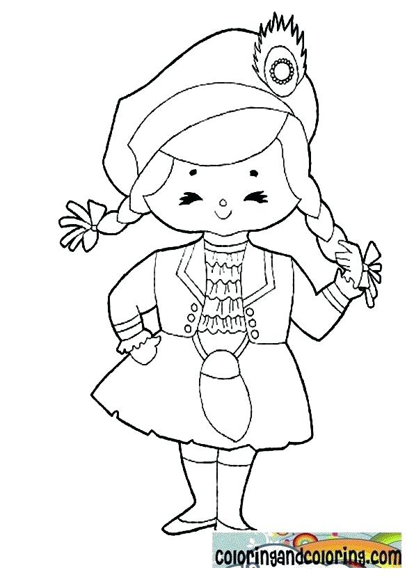 595x842 Scotland Coloring Pages