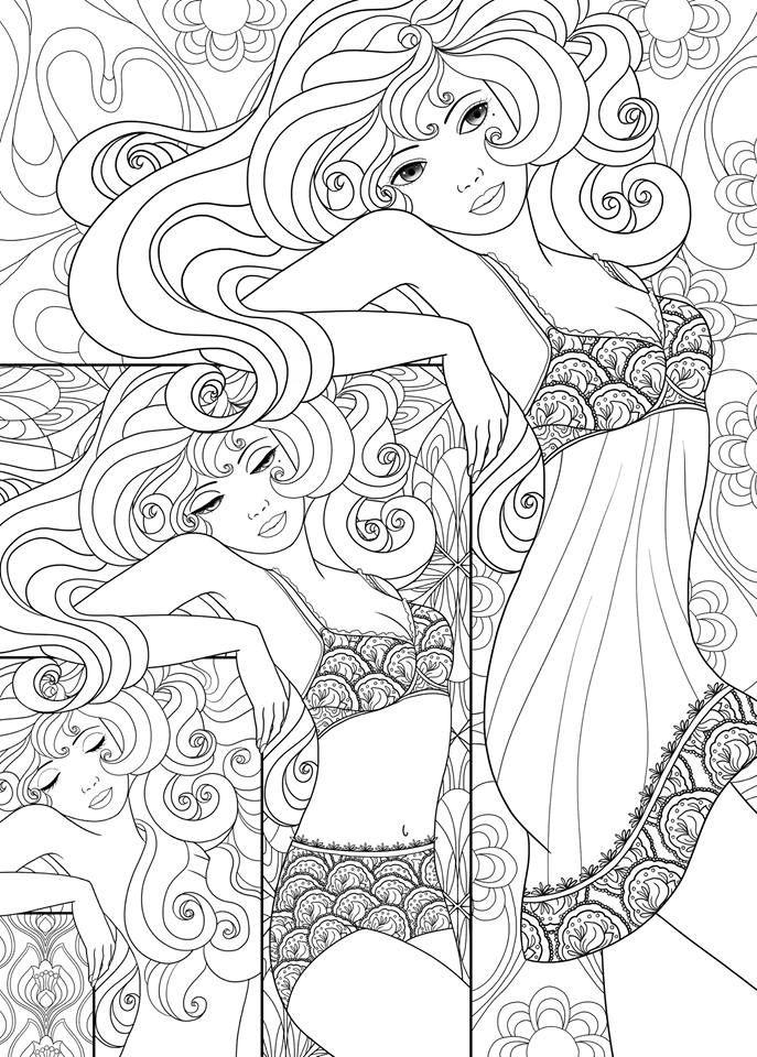 687x960 Mirror, Mirror Coloring Pages