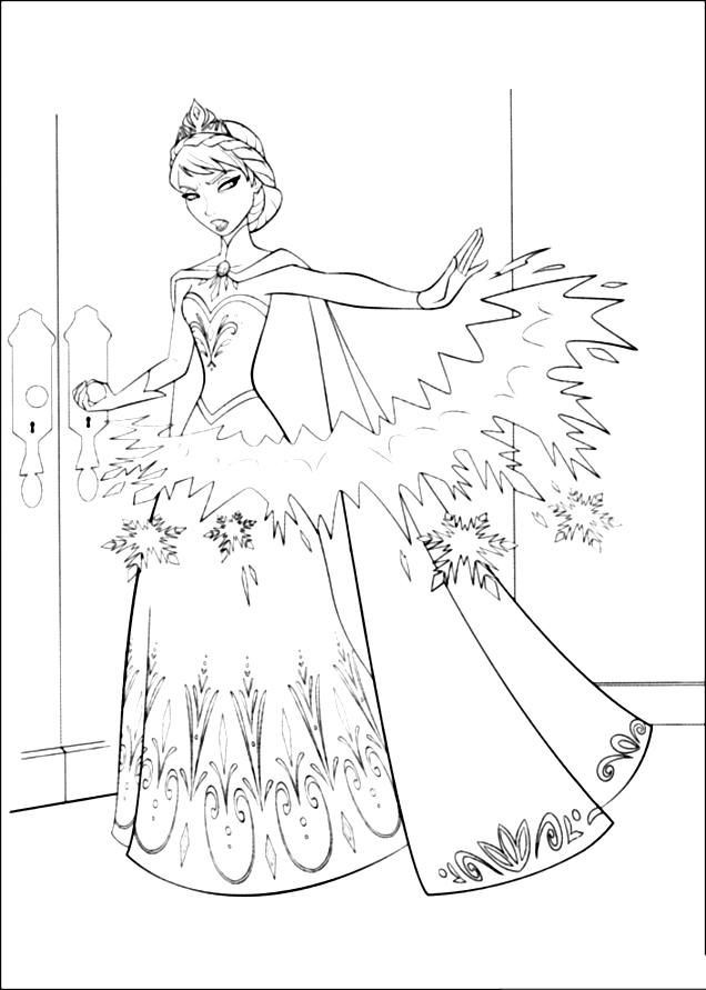 636x891 Coloring Pages Frozen Awesome Best Scrapbook Images