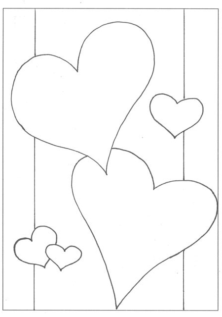 450x640 Creator's Joy Printable Valentine Coloring Pages For Scrapbook