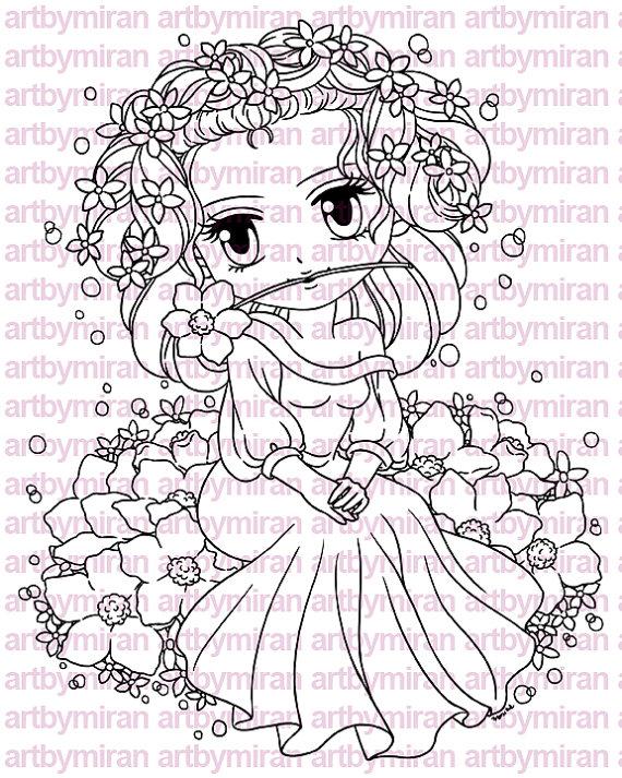 570x713 Digital Stamp