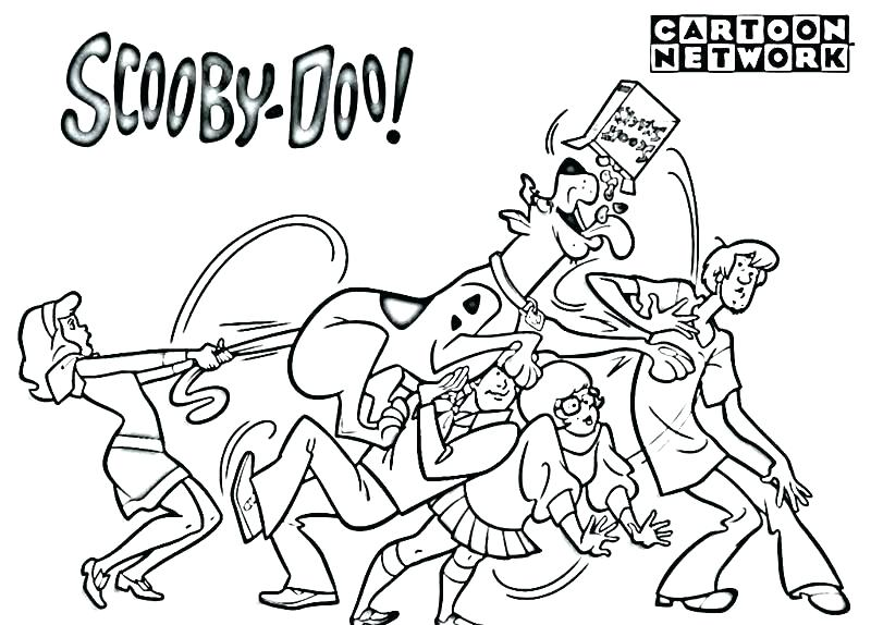800x574 Scooby Doo Coloring Page Best Of Of Free Printable Coloring Pages
