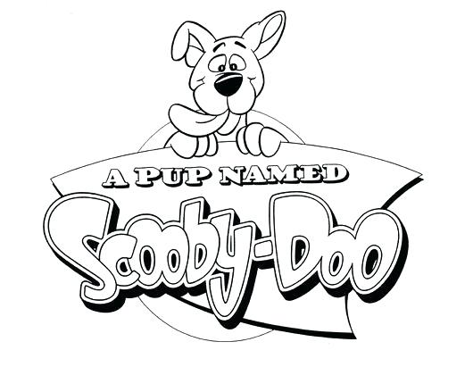 530x411 Scooby Doo Coloring Pages Coloring Pages Stock Collection