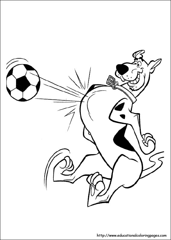 567x794 Scooby Doo Coloring Pages Free For Kids