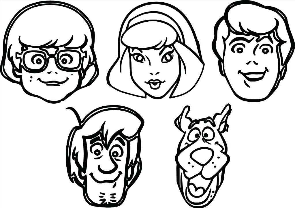 1023x720 Scooby Doo Scrappy Doo Coloring Pages