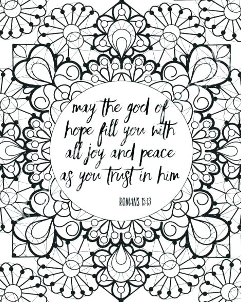 Scripture Coloring Pages At GetDrawings Free Download