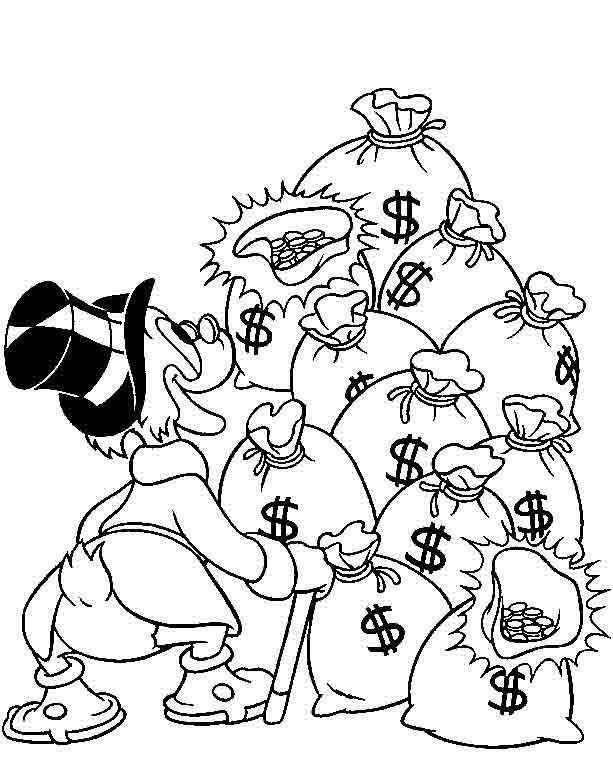 613x766 Uncle Scrooge Uncle Scrooge Uncle Scrooge, Tatoo