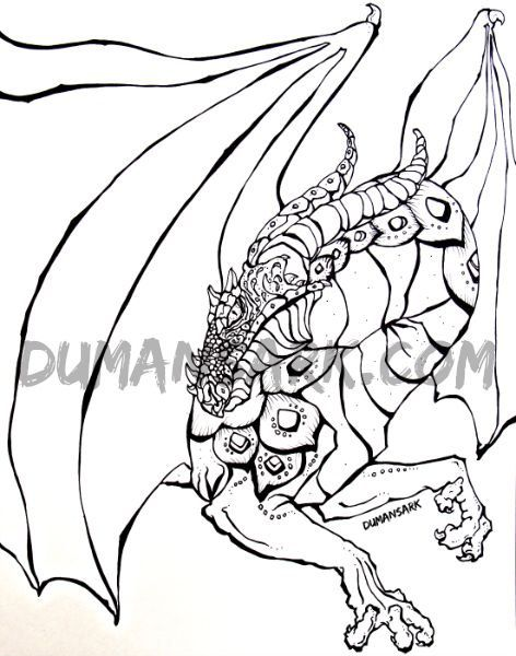 Sculpture Coloring Pages