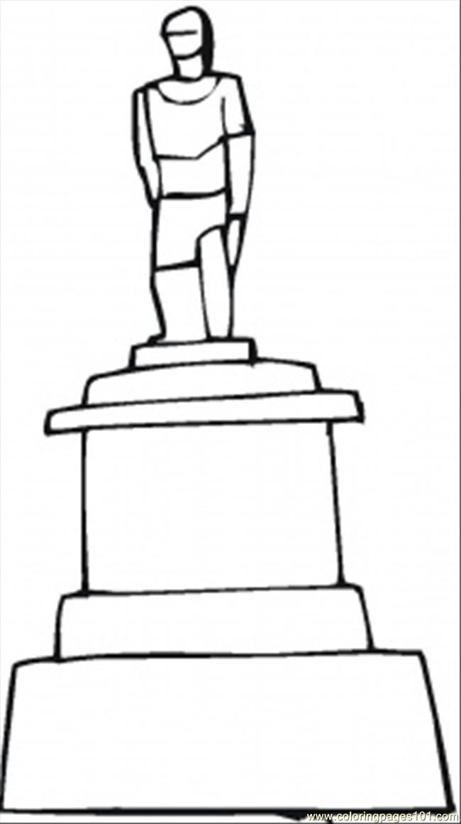 650x1160 Soldiers Sculpture Coloring Page