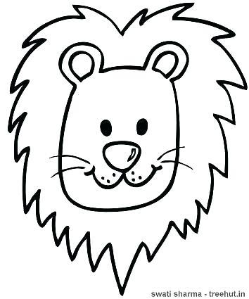 354x425 Lion Color Page Sea Lion Coloring Page Printable Sea Lion Coloring