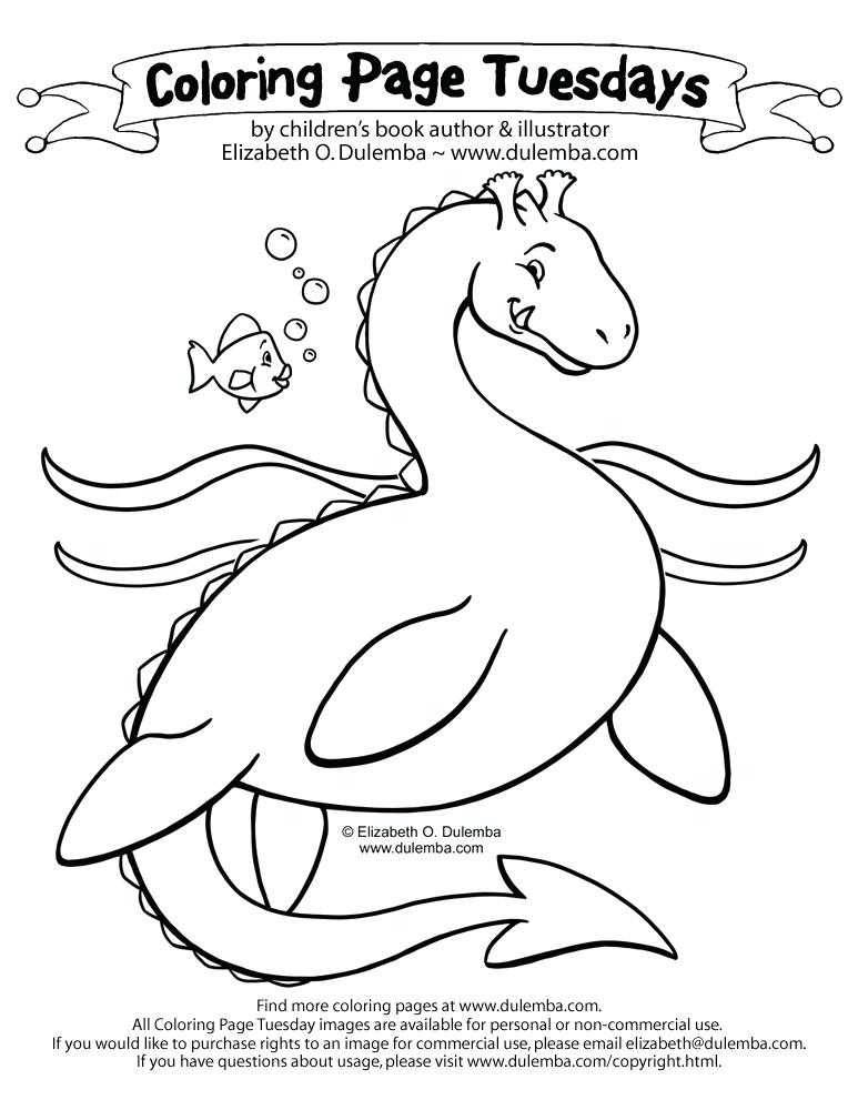 773x1000 Sea Serpent Colouring Pages Funny Monster Coloring Pages Funny