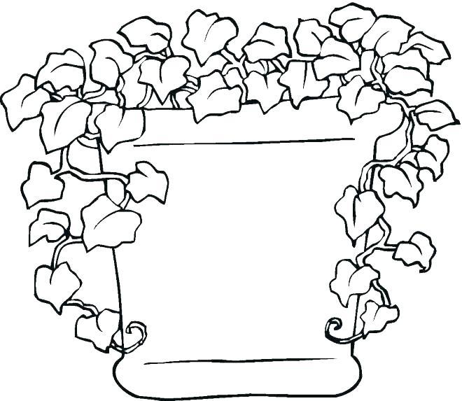 660x573 Plants Coloring Page Sea Plants Coloring Pages Plants Coloring