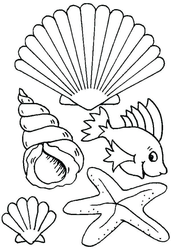 600x879 Sea Plants Coloring Pages Sea Creatures Coloring Pages Ocean
