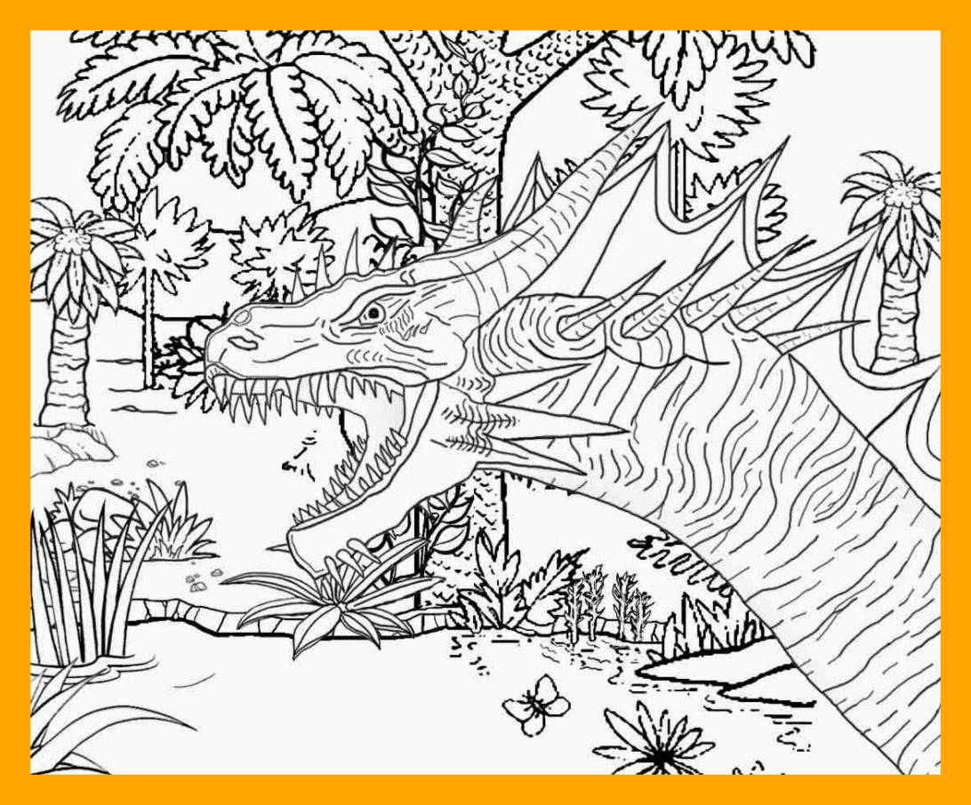 1092x906 Sea Serpent Coloring Pages