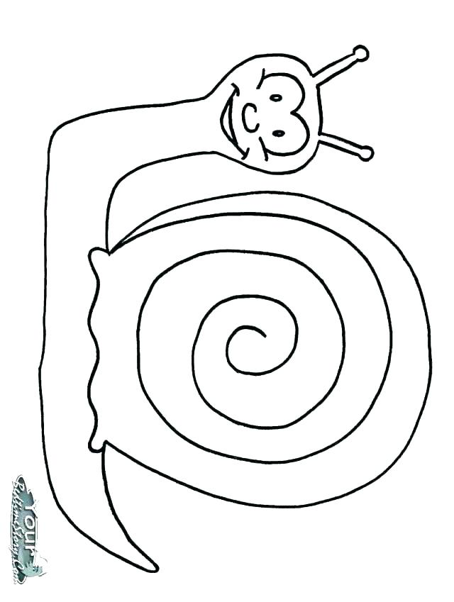 640x849 Snail Coloring Page Cute Ornate Garden Snail Coloring Page Vector