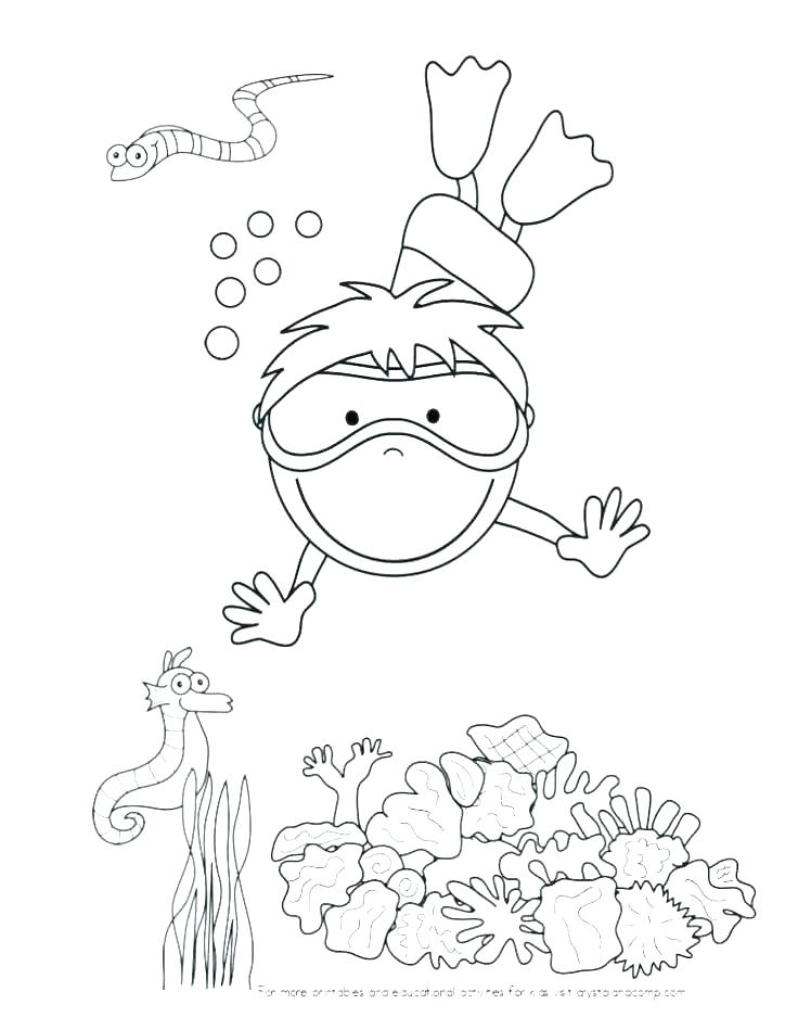 736x949 Sea Urchin Coloring Page Sea Otter Coloring Page Sea Urchin