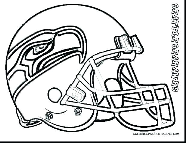 618x477 Seahawks Coloring Pages Coloring Pages Logos Seattle Seahawks