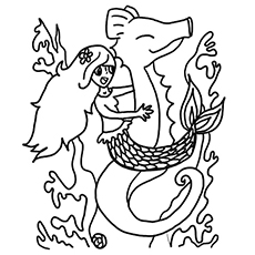 230x230 Top Free Printable Seahorse Coloring Pages Online